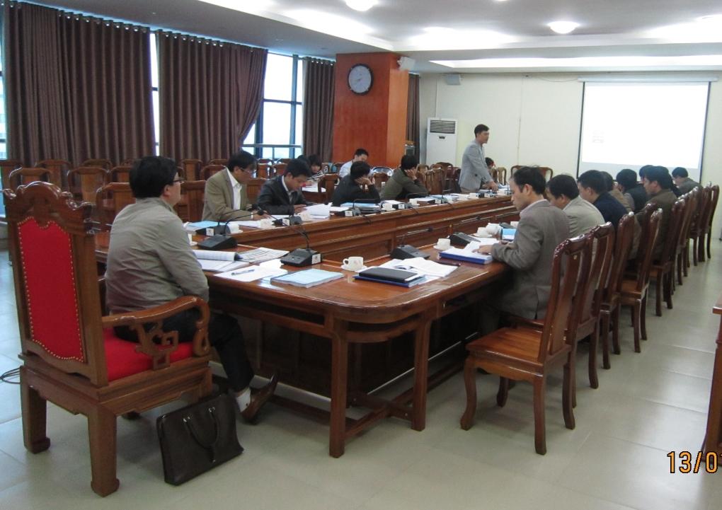 Hội thảo báo cáo liên ngành kết quả xây dựng định mức kinh tế kỹ thuật trong quản lý khai thác CTTL