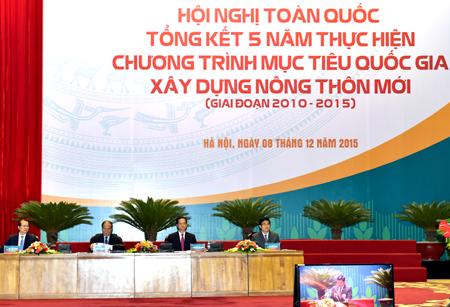 Thủ tướng dự Hội nghị tổng kết 5 năm xây dựng nông thôn mới